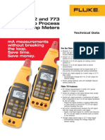 772 773 Milliamp Clamp Meter catalog from Fluke Bangladesh