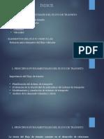 PRINCIPIOS FUNDAMENTALES DEL FLUJO DE TRÁNSITO