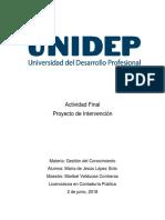 Trabajo Final Gestion Del COnocimiento UNIDEP