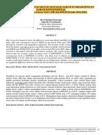 analisis perbandingan return and risk saham syariah dan saham konvensional