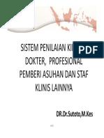 INDIKATOR KINERJA DOKTER DAN STAF KLINIS LAINNYA  WSPMKP DR SUTOTO.pdf