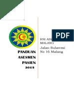 Panduan Asesmen AP Umum 2018