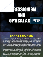 Expressionism and Optical Arts