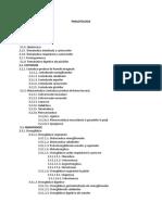 Parazitologie - Lista
