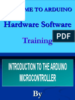 Introduction to the Arduino