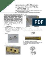 (INV 702-13) Ductilidad de Los Materiales Asfalticos