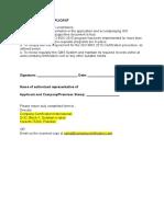 QMS Declaration