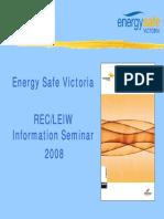 ESV Wiring Rules Presentation 2008