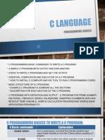 C Language Basicsasdf