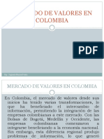 Mercado de Valores en Colombia Finanzas II