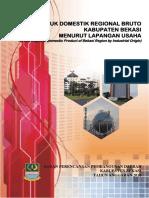 Produk Domestik Regional Bruto Kabupaten Bekasi 2010
