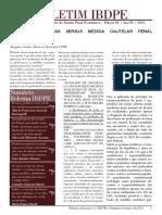 Boletim IBDPE - Instituto Brasileiro de Direito Penal Econômico, Ed. 4, Ano 3, 2015
