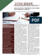Boletim IBDPE - Instituto Brasileiro de Direito Penal Econômico, Ed. 3, Ano 3, 2015