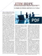 Boletim IBDPE - Instituto Brasileiro de Direito Penal Econômico, Ed. 2, Ano 2, 2014