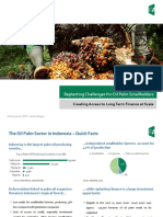 Replanting Challenges for Oil Palm Smallholders