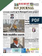 San Mateo Daily Journal 11-19-18 Edition