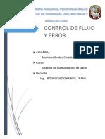 Control de Flujo y Error