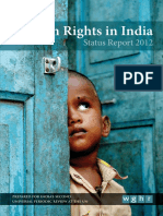 Human Rights in India - Status Report 2012.pdf