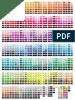 Pantone CP Color Chart