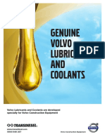 Volvo Lubricants & Coolants A5 Brochure - Nov 26