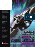 Database Performance Today the Need for Speed and Scale 2017