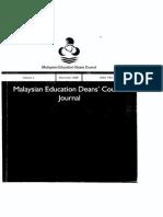 Deans Council