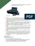 Canon Pixma 2770 Kode Error