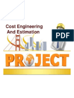 Cost Engineering and Estimation 1 638