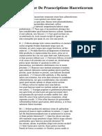 Tertullian _ De Praescriptione Haereticorum.pdf
