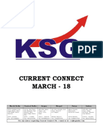 March 2018, Current Connect, KSG India