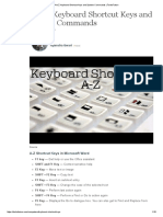 A to Z Keyboard Shortcut Keys and System Commands _ TurboFuture