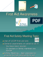 Firstaid Awareness