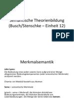 UG2 Semantische Theorienbildung