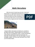 Baile Herculane