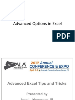 01a- Advance Excel Tips and Tricks