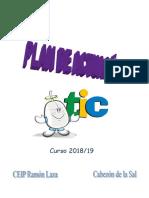 Plan de Actuación TIC 2018 - 2019