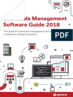 Chemicals Management Software Guide (Second Edition)