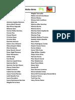 Llistat provisional sorteig malles Hoko