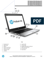 HP ProBook 430, 440, 450, And 470 G4 Notebook PC