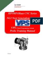 Haas NG2 Probe VPS Training Manual