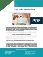 PREGUNTAS FRECUENTES CIRUGÍA ESTÉTICA CIRUGÍA DE PECHO – AUMENTO DE PECHO