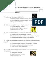 Evaluacion EXCAVADORA-HRM