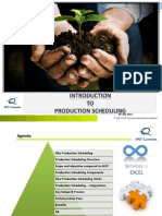 Introduction to Production Scheduling 2.1