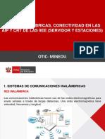 IMPLEMENTACIÓN DE RED LAN EN EL AIP Y CRT