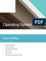 Lecture 5 - Basic Utilities