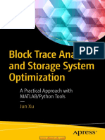 Block Trace Analysis and Storage System Optimization