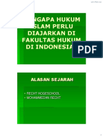 Hukum Islam 2 - Hukum Islam Di Fh