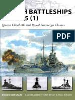 British Battleships 1939-45 (1) - Queen Elizabeth and Royal Sovereign Classes