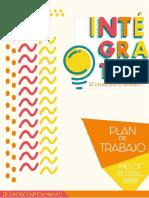 Plan de Trabajo de Intégrate Letras para la Mesa Directiva del CF 2019