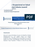 TERAPIA OCUPACIONAL - Terapia Ocupacional en Salud Mental Infanto Juvenil